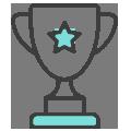 trophy-color-blue